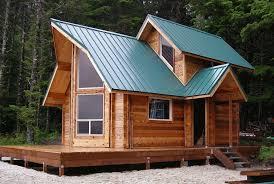 Small Picture Small Cabin Kit Cozy Log Home Unique Roof Designs Artistic