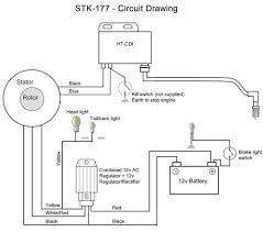 cdi ignition lighting external rotor kit for bsa bantam d10 d14 stk 177 wiring diagram