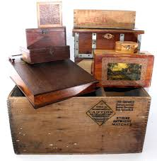 vintage wooden crates and boxes singapore
