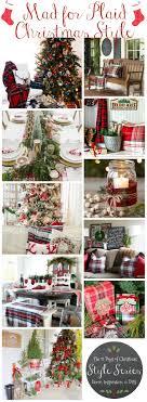 Plaid Christmas Tree Best 25 Plaid Christmas Ideas Only On Pinterest Christmas