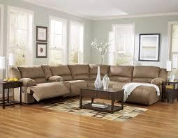 The Brick Living Room Furniture Vintage Brown Leather Corner Sleeper Sofa In Unfinished Harwood