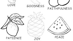 Coloring Pages Fruits And Vegetables Plus Fruit Printable Preschool