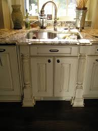 White Kitchens Dark Floors Glazed Kitchen Cabinets White Cabinets With Dark Wood Floors