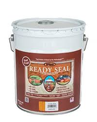 ready seal is a really great brand and this 5 gallon stain will give you all of the material that you need to stain your deck no matter what size it is