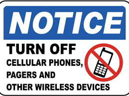 Printable No Cell Phone Sign 17 356 X 498 Carwad Net