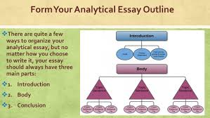 this analytical essay kick start what you need is a blueprint a  4 form