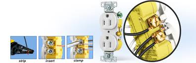 hubbell wiring device kellems electrical wiring devices How To Wire An Outlet In Series xclamp duplex tamper resistant receptacle how to wire an outlet in series diagram