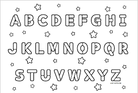 Small Picture Alphabet Coloring Pages Preschool Archives Within Alphabet