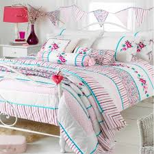 riva home appleby romany fl duvet cover set white pink kingfisher super king linens limited