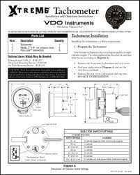 vdo xtreme tachometer wiring diagram all wiring diagram vdo xtreme tachometer wiring diagram wiring diagrams click vdo speedometer wiring diagram vdo extreme tachometer installation