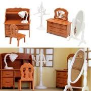 Miniature dollhouse furniture for sale Wholesale Hot Sale Family Dollhouse Living Room Miniature Plastic Furniture Set Dollhouse Decoration Accessories Kids Children Girls Busnsolutions Miniature Dollhouse Furniture