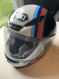 Bmw Motorrad Shoei Rf 1200 Full Face Motorcycle Helmet Snell