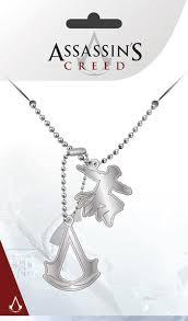 assassins creed pendants dog tags
