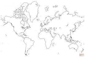 Small Picture Coloring Pages Free Printable Coloring Pages World Map Coloring