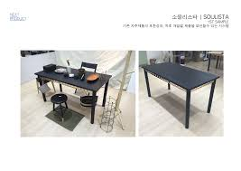 cha ban is a mini table designed for users who enjoy seating on floor or bed reinterpret korean traditional table into modern lifestyle furniture