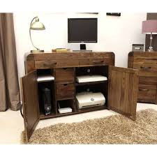 walnut office furniture. solid walnut hidden home office furniture