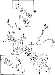 com acirc reg mazda sensor rt frt a b s partnumber ncx 2001 mazda miata base l4 1 8 liter gas anti lock brakes