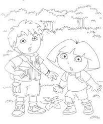 Diego Go Kleurplaten Animaatjesnl