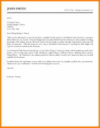 Awesome Collection Of Mechanical Engineer Cover Letter Sample Pdf