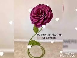Paper Flower Stems Giant Flower Stem Tutorial Giant Flower Stems Paper Flower Stems