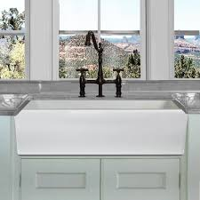 36 inch white farmhouse sink. Highpoint Collection White Single Bowl Rectangle Fireclay Farmhouse Kitchen Sink Throughout 36 Inch