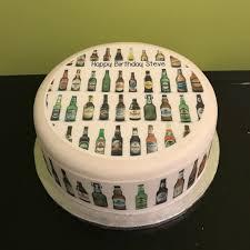 Ordering Birthday Cakes Online Inspirational Bottles Of Beer Edible