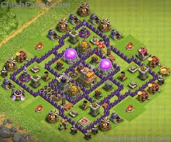 Base 7 Town Hall 7 Base Best Th7 Layout Clash Of Clans 2019