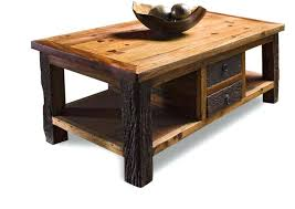 end table wooden factory cart