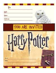 13th birthday invitation templates free harry potter free printable party invitations simply and print free