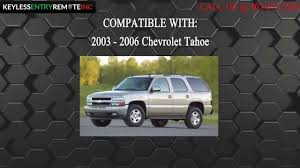 How To Replace Chevrolet Tahoe Key Fob Battery 2003 2004 2005 2006 ...