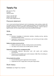 Ideas Collection Cv Resume Template Nz For Resume For Landscaper