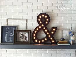 ampersand in home decor symbolism