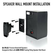 wall speaker mount pivoting tilting speaker wall mount pair detailed description wall mount speaker stands india