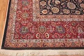 silk and wool fine fl vintage khorassan persian rug for at 1stdibs