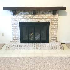 paint inside fireplace black gany painted white home depot