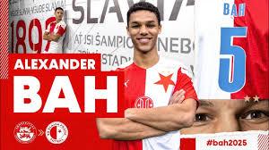 Alexander Bah | Welcome to Slavia Prague | All Goals, Skills ...