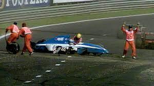 Ayrton Senna Saves Erik Comas   1992 Belgian Grand Prix - YouTube