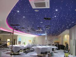 fibre optic ceiling tiles