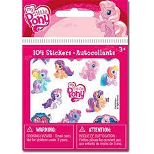 Reward Stickers My Little Pony