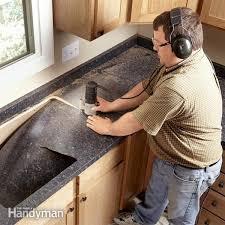 installing formica countertop sheets on granite countertops