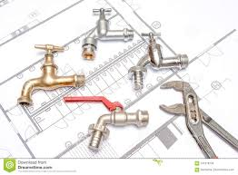 Plan Plumber And Wrench Stock Photo Image Of Cutter 101578720