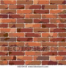 old brick wall seamless texture clip
