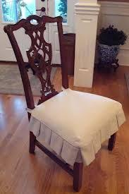 slipcover for chair seat seat cover natural white cotton canvas custom sizes made to order dining chair coversdining room