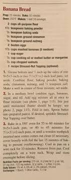 banana bread from better homes and gardens