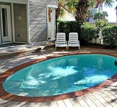 Pool Backyard Design Ideas Beauteous Small Pool Perfect For Soaking And Cooling Off R Those Of Us Ideas