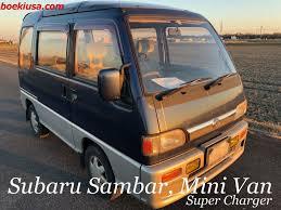 subaru sambar mini van super charger