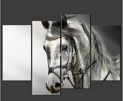 black and white horse canvas wall art wall art painting canvas the black and white grey on shadow rider horse canvas wall art with black and white horse canvas wall art dronemploy 96512def646c