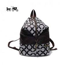 Coach Backpacks in Monogram Medium Black Outlet Sale VIP Shop
