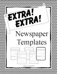 Newspaper Article Template For Pages 2 Pages Filled With Content Create A Fake Newspaper Article Template