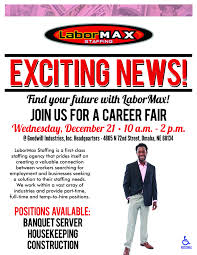 labormax staffing hiring event goodwill omaha labormax fair 2016